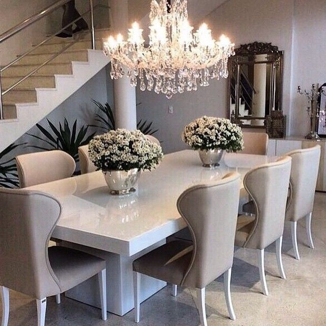 white dining room table 439 best luxe dining pictures on pinterest dining room dining room dining room MGXQXAB