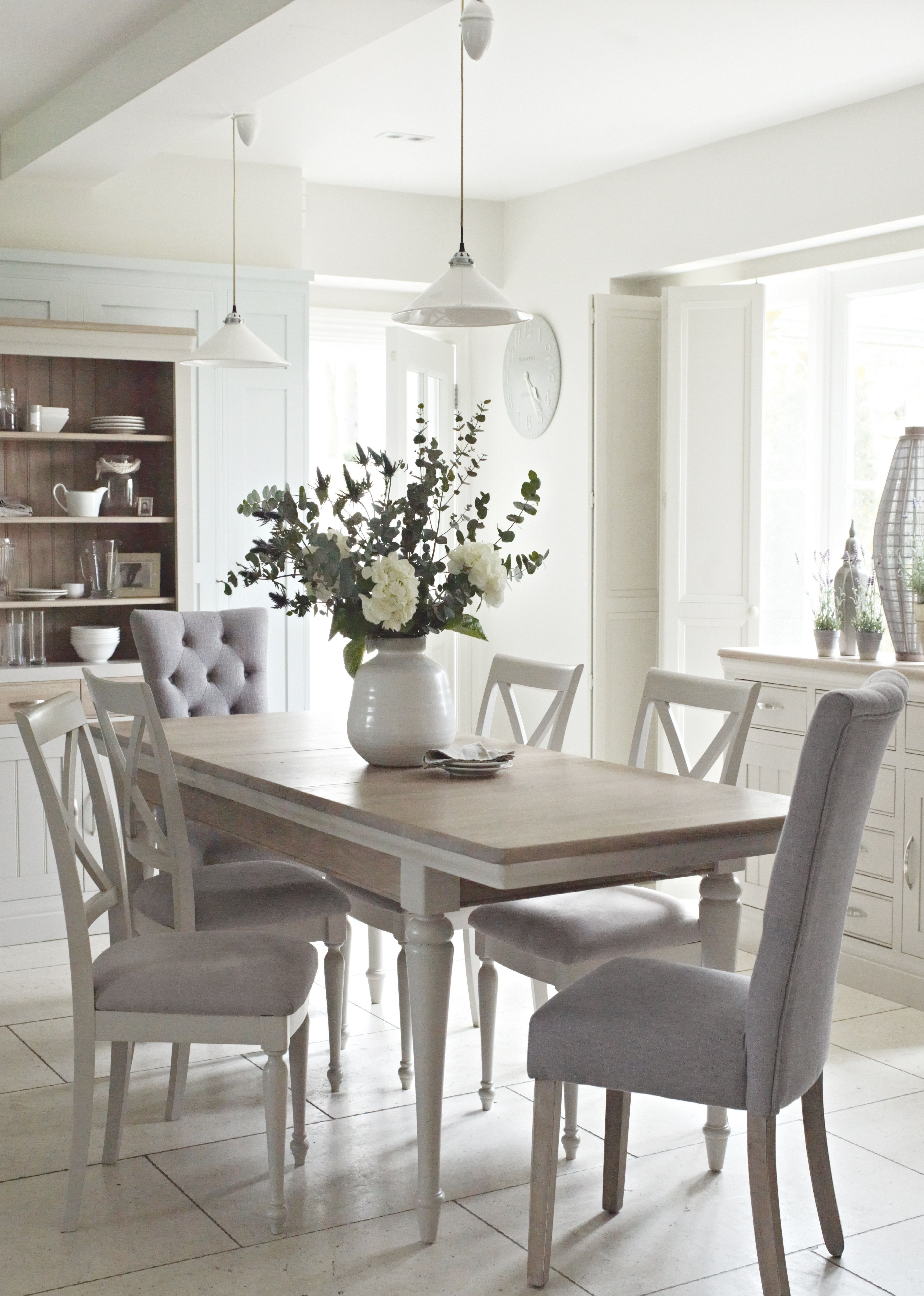 white dining room table the classic bambury dining group exudes country chic.  with painted UEKXCQH