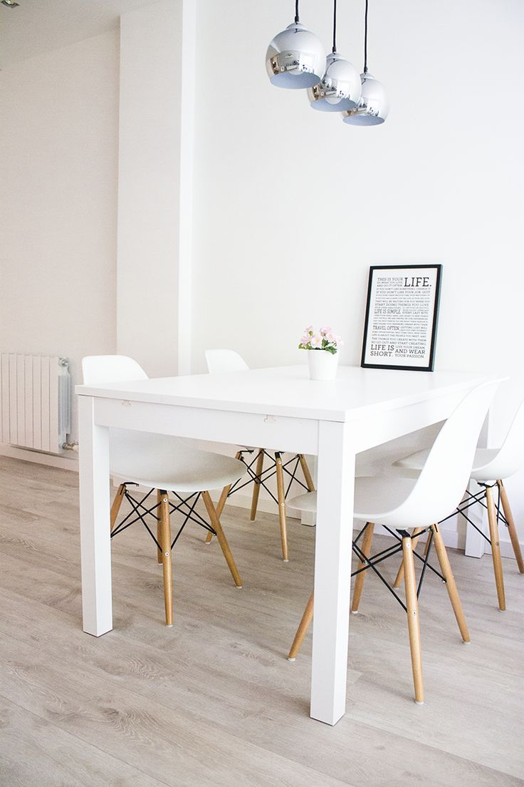 white dining table view in gallery FDURQTF