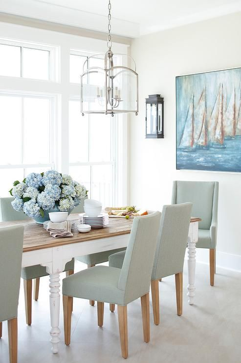 white dining table view in the JAJGULI gallery
