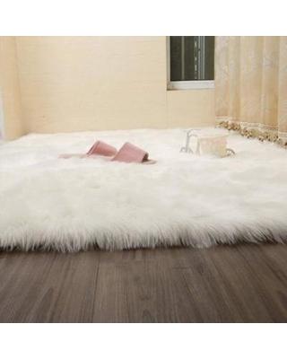 white faux fur rug faux fur rug white tayyakoushi soft fluffy rug shaggy rugs faux fur rug JXYWFZD
