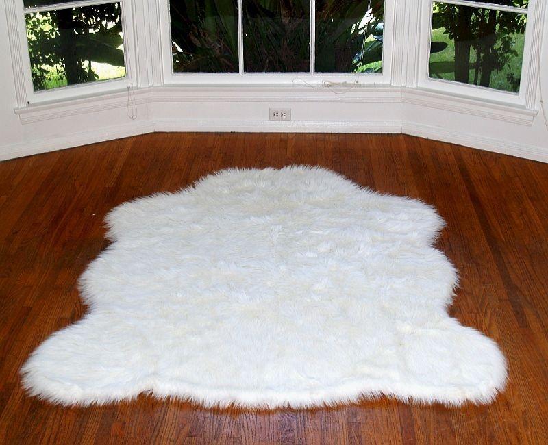 white lambskin rug ... love rugs - arctic polar bear rug in white, $ 69.00 MJYXLII