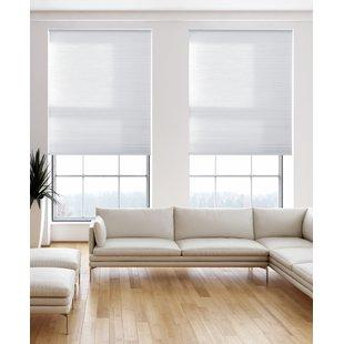 Blinds light-filtering pure white cell screen GUKNCTT