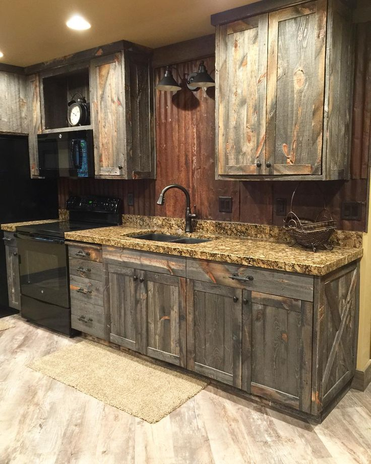 Wooden cabinets 15 rustic kitchen cabinets designs ideas with photo gallery |  pinterest |  HNJDTTJ