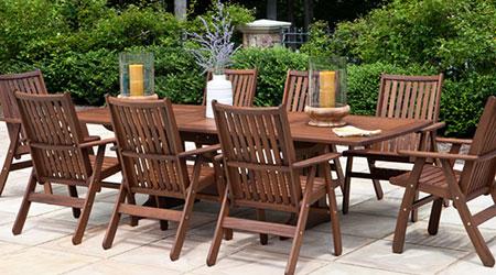 Wooden garden furniture Jensen Freizeit Wooden garden furniture for outdoor use CVMZGOS