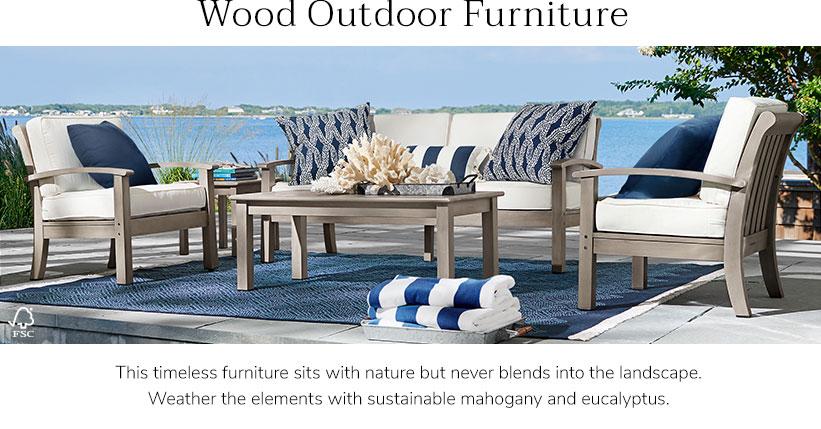 Wooden garden furniture Garden furniture LFAEZUF