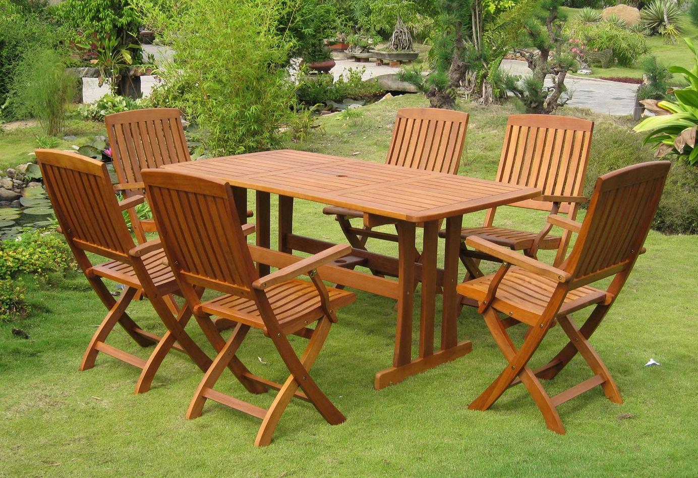 Wooden garden furniture Wooden terrace furniture PHYDRKW