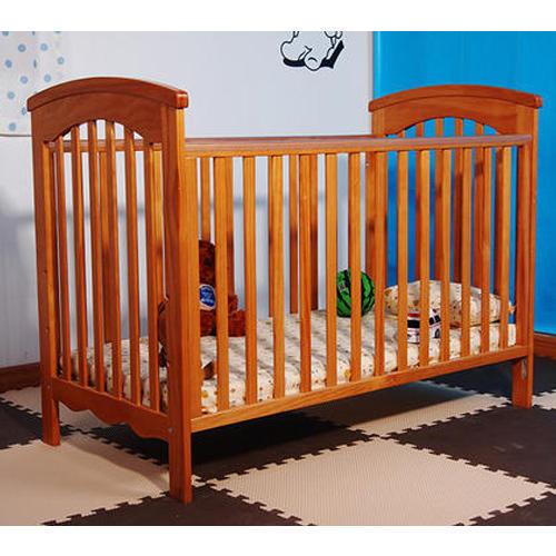 Wooden baby bed VQAJSYU