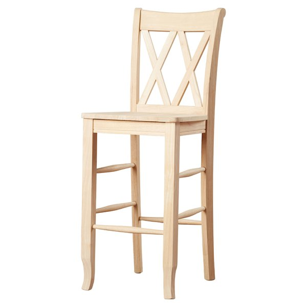wooden bar stool august grove toby 30 DILWCDW