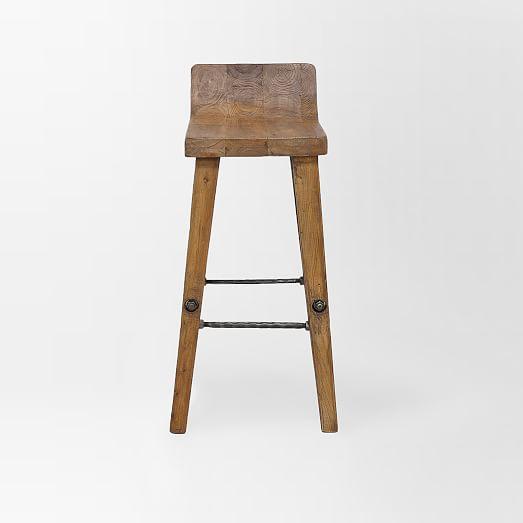Wooden bar stool Detail view ... TTREEVK