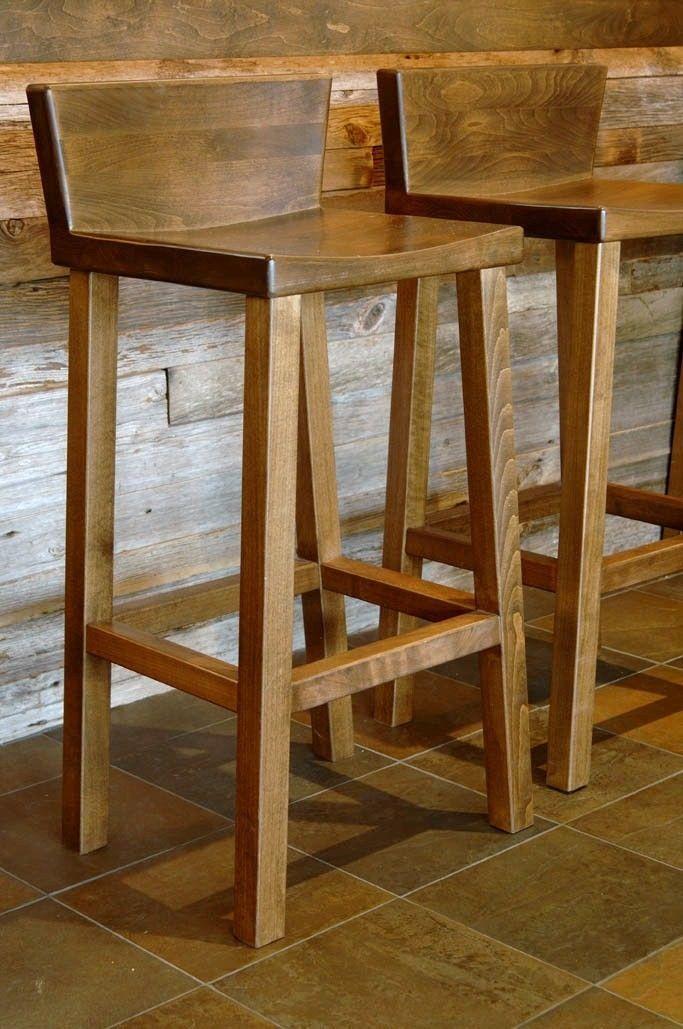 Wooden bar stool more cute wooden stool ideas OLIZSXM
