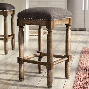 Wooden bar stool remy 26 DGJFNDK