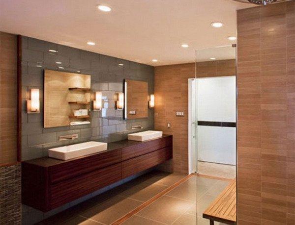 Wooden Bathroom Furniture Ideas 18 Exquisite Contemporary Wooden Bathroom Design Ideas NPBMGWN