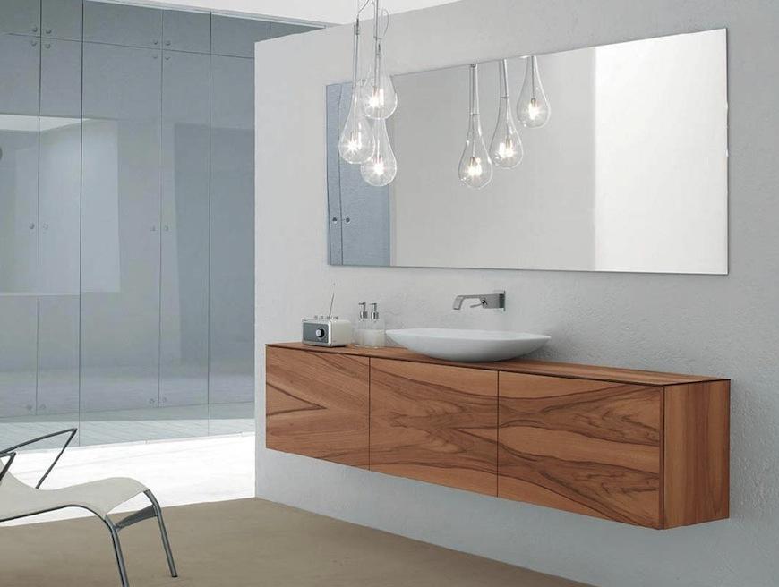 Wooden bathroom furniture ideas