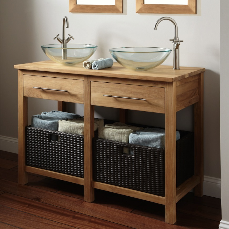 Bathroom furniture ideas made of wood spoil your home with these amazing bathroom cabinets made of wood ➤ see more ZNXXRLH