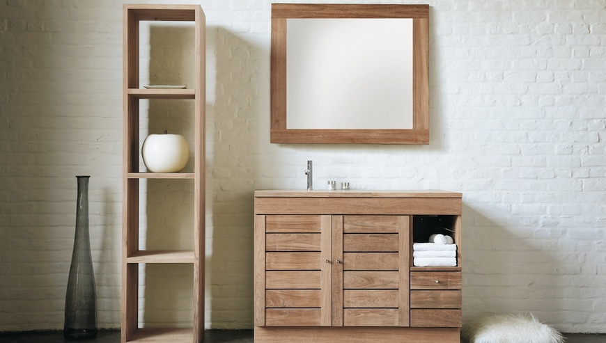 Wooden bathroom furniture ideas pamper your home with these amazing wooden bathroom cabinets AFEAIGW