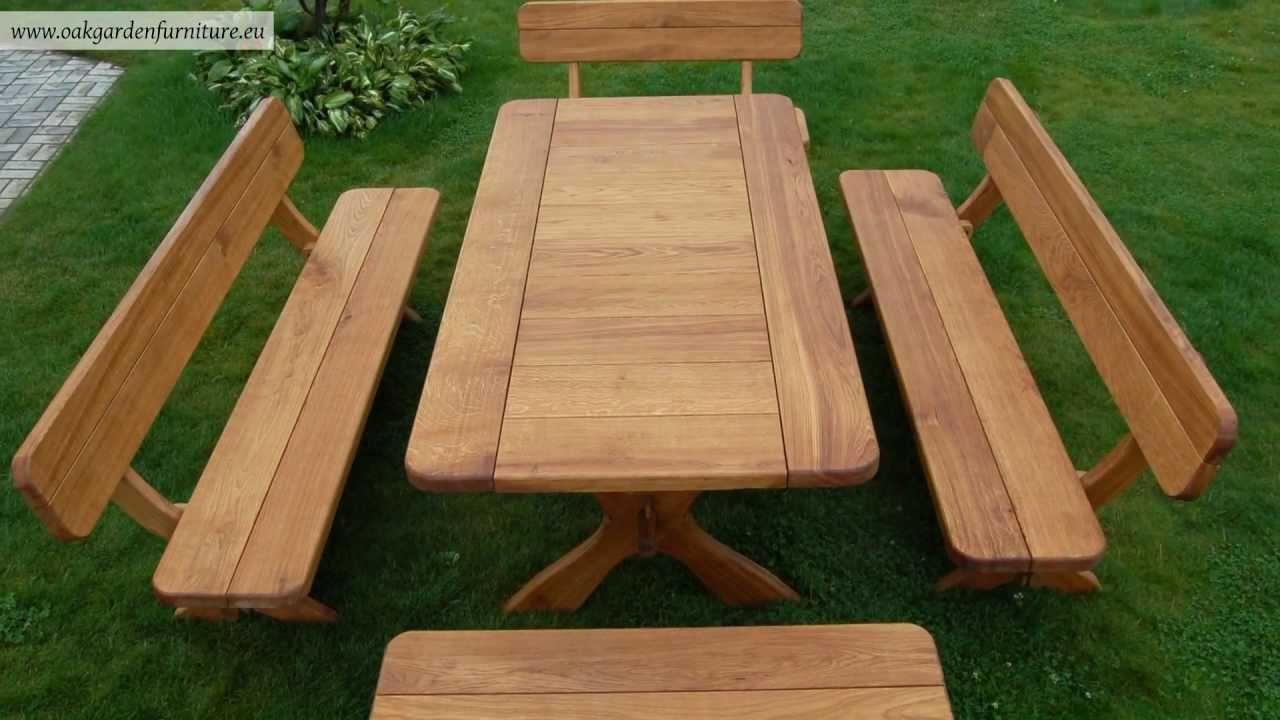 Wooden garden furniture - youtube JVTIBAO