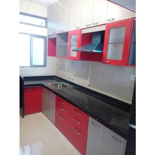 Modular wooden kitchen furniture JGYVKNW