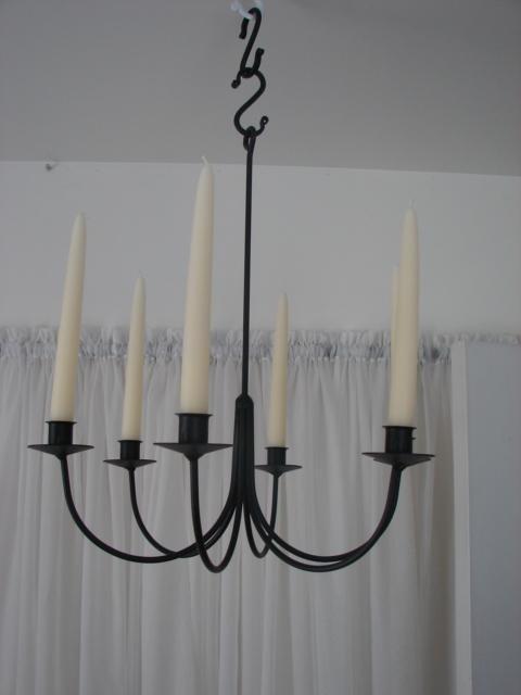 wrought iron candlestick 1 QIFXACV