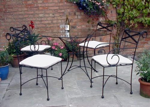 Wrought iron furniture FTIUEHW