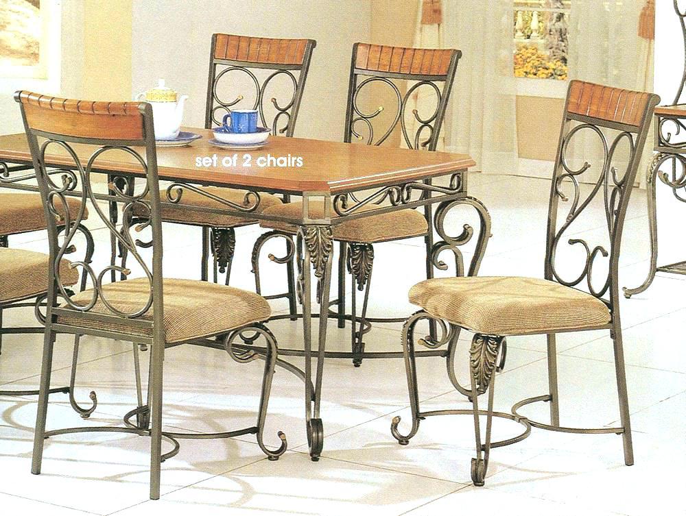 Wrought iron furniture indoor