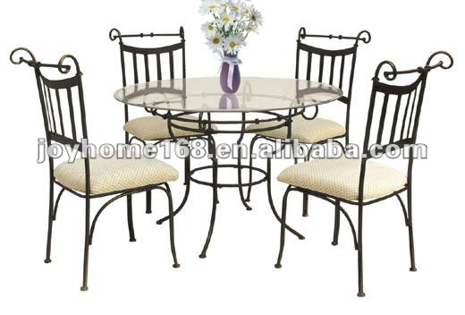 wrought iron furniture indoors ... wrought iron furniture door wrought iron dining room set new door table ACBNWKW