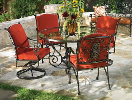 Wrought iron outdoor furniture ... Wrought iron outdoor furniture ... PRYONVS