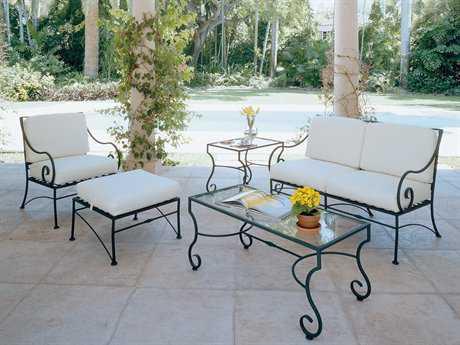 Wrought iron garden furniture made of wrought iron for outdoor use QJHTIGO
