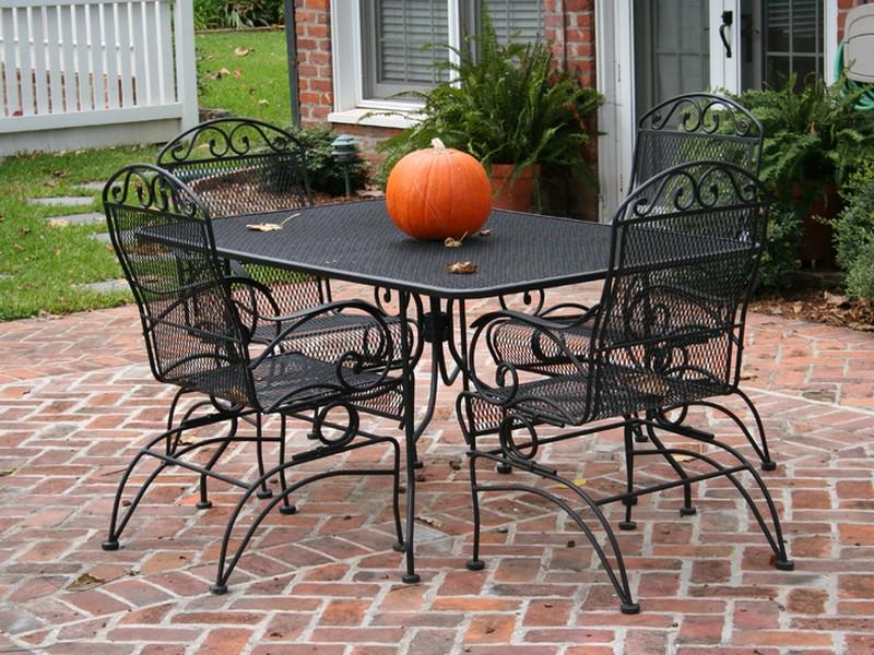 Wrought iron outdoor furniture Wrought iron outdoor furniture Australia Designs AWRSAJT