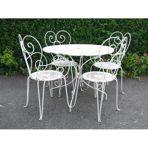 Wrought iron furniture ROHMVUY