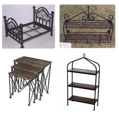 Wrought iron furniture RYVXPOL