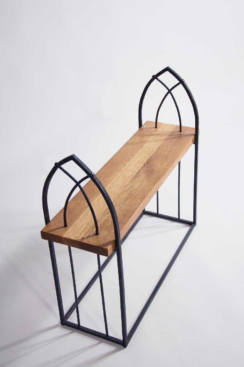 wrought iron furniture wrought iron bench u201cgothicu201d NGMLNIQ