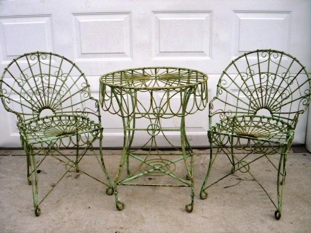 Wrought iron furniture ZWFEDOP