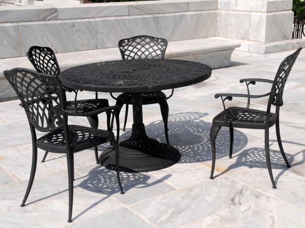 Wrought iron garden furniture AKWUQGD