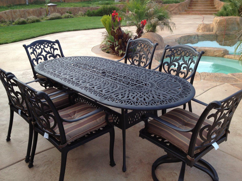 Wrought iron garden furniture SFPSQFF