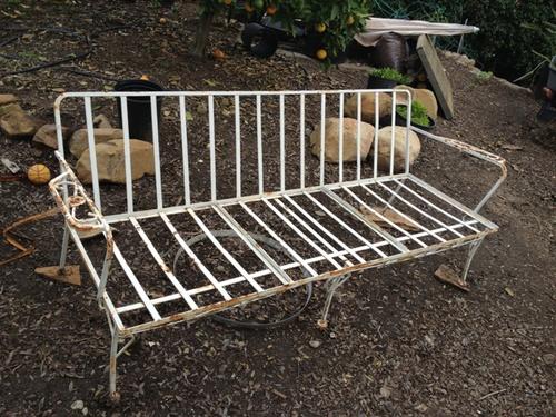 Wrought iron garden furniture vintage vintage iron garden furniture modern for XBLXBPO