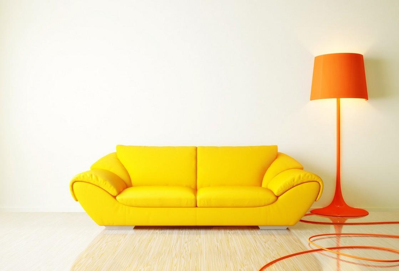 yellow sofa the unique yellow REZZLIJ