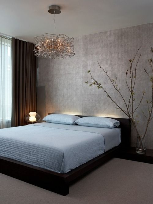 30 amazing zen bedroom designs for inspiration    Contemporary bedroom.